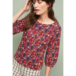 """NWT Anthropologie """"Decatur Printed Top"""""""